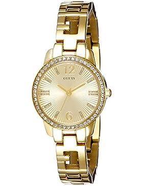 Guess Damen-Armbanduhr Analog Quarz Edelstahl W0568L2