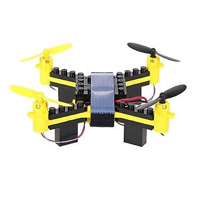 Goolsky T11S Wifi FPV 0.3MP Camera Drone 3D flip Headless Mode DIY Building Block Altitude Hold G-sensor Quadcopter