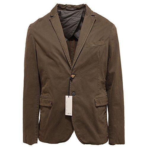 6383Q giacca uomo KOON cotone verde vintage green jacket men [50]
