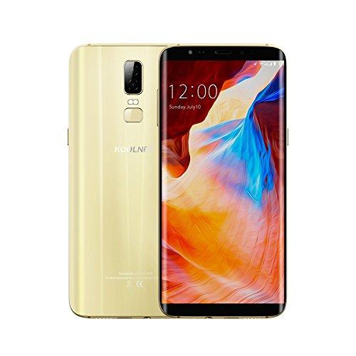 KOOLNEE K1 4G LTE Smartphone 6 Zoll 18: 9 FHD + Display, Octa-Core 4GB RAM+64GB ROM 16MP + 2MP Dualhauptkameras Fingerabdruck-ID 3190mAh Akku,Band 20 Dual SIM Ohne Vertrag
