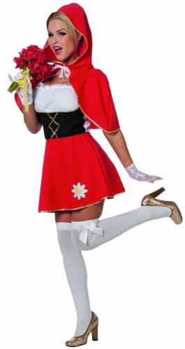 Imagen de stekarneval  disfraz de caperucita roja para mujer, talla uk 16  18 428444