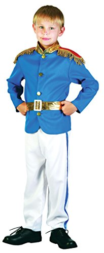 Bristol Novelty Prince Costume Small Child Boy Age 3 - 5 Years