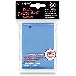 Ultra Pro 60 fundas de 62 x 89 azul celeste