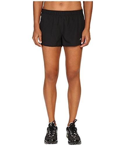 New Balance Damen Spitze bis beschleunigen 6,3cm Shorts, Schwarz, RWS53145 (New Shorts Classic Balance)