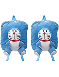 MGP Blue Man Full Character Nursery Play Kids School Bag-Set Of 2
