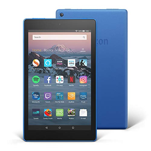 "All-New Fire HD 8 Tablet with Alexa, 8"" HD Display, 32 GB, Blue - with Special Offers"
