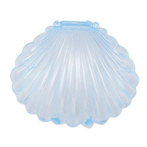 Toymytoy 10pz scatole bomboniera matrimonio battesimo comunione nascita scatoline bomboniere portaconfetti (blu trasparente)