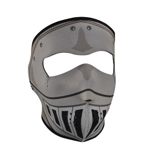 Ritter Paintball (ZANheadgear Neopren-Gesichtsmaske, Ritter-Design (mehrere Farben, eine Größe))