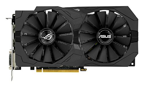 Price comparison product image ASUS AMD Strix RX470 4 GB GDDR5 Memory PCI-E Gaming Graphics Card - Black
