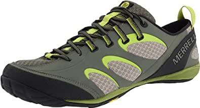 Merrell True Glove, Men's Lace-Up Trainer Shoes - Green (Dusty Olive/Amazon), 10 UK