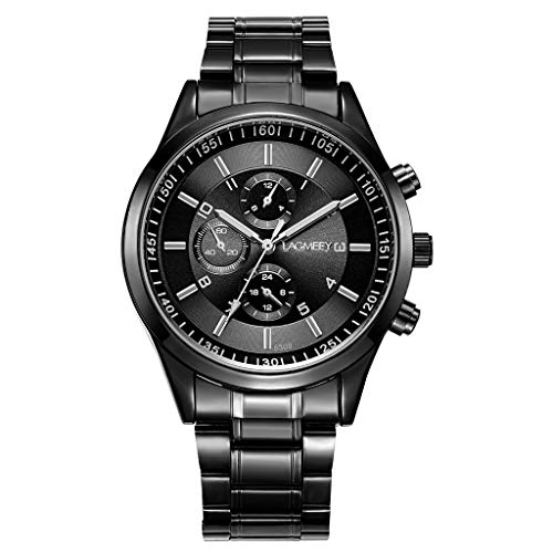 REALIKE Herrenuhr Armbanduhren Sport Leuchtend Rostfreier Stahl Wasserdicht Mesh-Gürtel Uhren Mehrfache Farben Freizeit Ultradünn Britische Artart und Weise Neue High End Geschäftsuhr Business (Nixon-skelett-uhr)