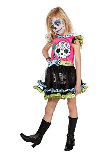 Jannes - Kinder Kostüm Dia de los Muertos -