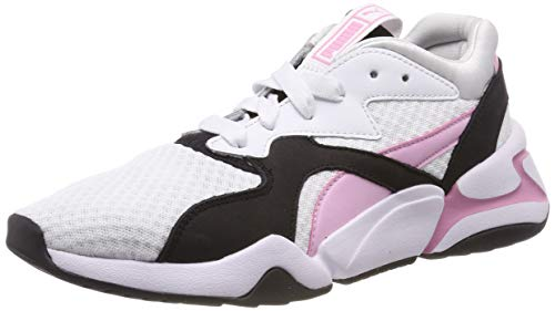 super popular 5c6cd cb7cb Puma Nova 90 s Bloc Wn s, Zapatillas para Mujer, Blanco White Pale Pink,