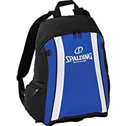 Spalding funda Backpack, color Varios colores - royal/Schwarz/Weiß, tamaño 47 x 39 x 19 cm, 35 Liter, volumen liters 35.0