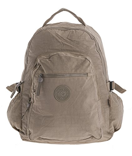 Big Handbag Shop, Borsa a zainetto donna Backpack Style 1 - Taupe