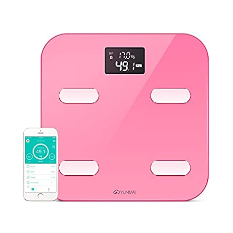 YUNMAI Color Smart Body Analyser - A Bluetooth Bathroom Scale