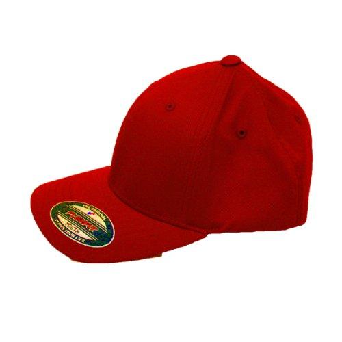 Flexfit Mütze Blanko Cap red - Youth