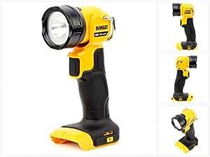 DeWalt DCL040  Lampe torche LED Sans fil 18 Volt/3 Ah [Livré sans batterie ni chargeur]