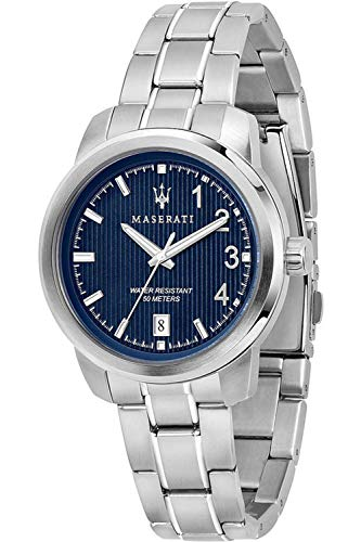 Maserati Polo Womens Analogue Quartz Watch with Stainless Steel Bracelet R8853137502