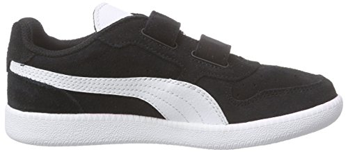 Puma Icra Trainer Sd V Inf Unisex-Kinder Low-Top Schwarz (black-white 07)