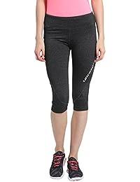 Ultrasport Collant de course / pantalon de sport Cara pour dame en longueur¾