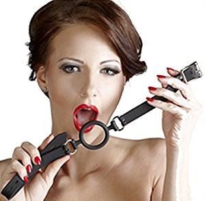 Fester Silikon Ringknebel ♥ Bondage Mundknebel ♥ BDSM Shop