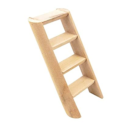 PanDaDa Small Animals Habitat Toy Funny Climbing Ladder Hamster Ladder Stand Wooden Climbing Toy Solid Playing Accessories 1