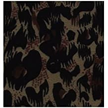 Tela de algodón con estampado de leopardo, una pieza