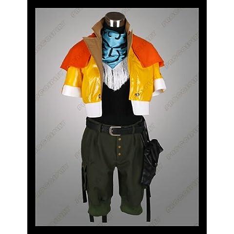 Vivian Final Fantasy Hope Estheim cosplay costume (Può essere personalizzato),taglia XXL (altezza 175-180 cm,75-80 (Costumi Final Fantasy Cosplay)