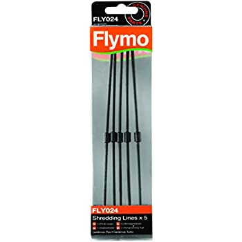 Flymo Fly024 Shred Lines Pack Of 5 To Suit Garden Vacs