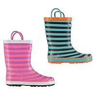 Cotswold Captain Wellington Boots Childs Girls Wellies Gum Boots Waterproof