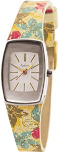 Kahuna Ladies Watch KLS-0135L with Gold Dial and Beige Leather Strap