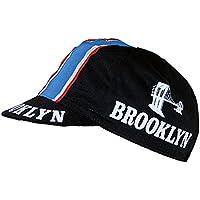 Radmütze Brooklyn Black Cap Rennmütze Retro Mütze