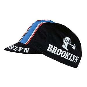 Brooklyn Casquette de cycliste Style rétro Noir