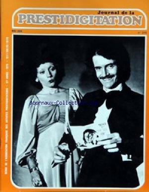 JOURNAL DE LA PRESTIDIGITATION [No 310] du 01/05/1976 - par Collectif