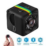 Mini Kamera,Full HD 1080P Tragbare Kleine Überwachungskamera, Mikro Nanny Cam mit Bewegungserkennung und Infrarot Nachtsicht, Compact Sicherheit Kame