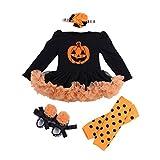 Sronjn mio primo Halloween costume della del partito del vestito 4PCS Stile 4