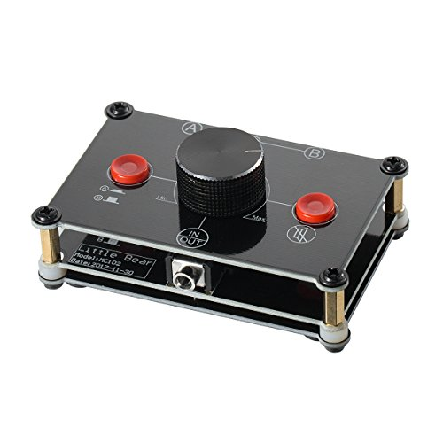 Nobsound Little Bear MC102 Mini 2(1)-IN-1(2)-Out 3.5mm Stereo Audio Switcher Passive Selector...