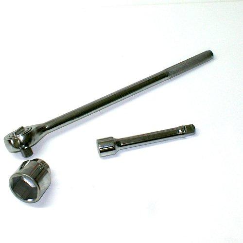 Ruhr-Werkzeug Jeu de clé à cliquet et douilles SW 19 à 50 mm avec 3/4 \