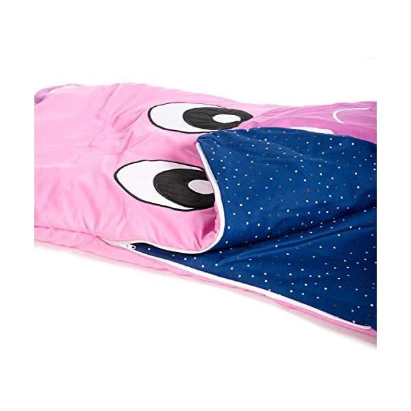 Saco de dormir de algodón para niños para niñas y niños – Mochila de invierno con osito y silla de paseo para niños pequeños