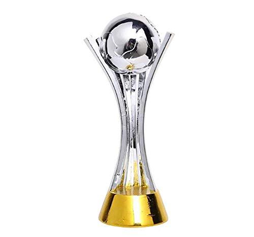 SY- Trophy Reproducción Trofeo de la Liga de Campeones Estatua de fútbol Trofeo Trofeo Resina Modelo de fútbol Trofeo del Campeonato Mundial de Clubes de la FIFA (43cm 2 kg)