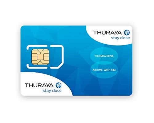 Tarjeta SIM NOVA Teléfono via satélite Thuraya 60