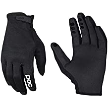 POC Index Air Adjustable - Guantes MTB para hombre, color negro, talla L