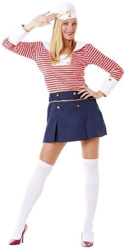 Hilka Cesar B373-001 - Disfraz de marinera para mujer, talla 34-36
