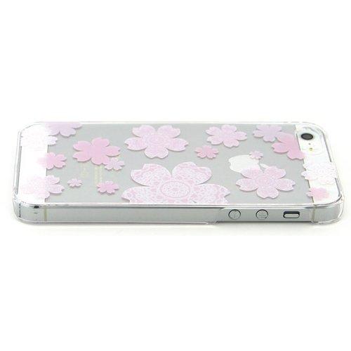 Coque iPhone 6 Plus, TrendyBox Étui Mignon pour iPhone 6 Plus 5.5 pouce + 0.3mm verre trempé Protection D'écran + Hibou courroie de téléphone (Fleur de Cerisier et blanc chat) Fleur de Cerisier