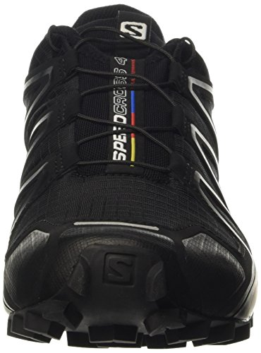Salomon Speedcross 4 Running Shoes, Men's Size 8 (Black)