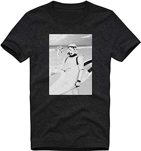 EZYshirt® Stormtrooper Herren T-Shirt Organic Cotton Rundhals Premium -