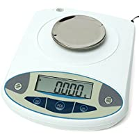 100 x 0.001g 1mg Digital Lab Analytical Balance Electronic Precision Scale - Analytical Balance