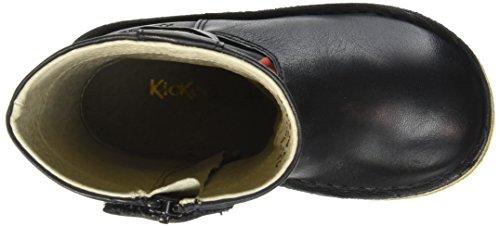 Kickers Cresis, Bottes Classiques Fille Noir