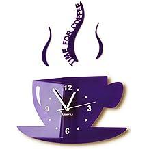 Wanduhr für küche  Suchergebnis auf Amazon.de für: wanduhren lila
